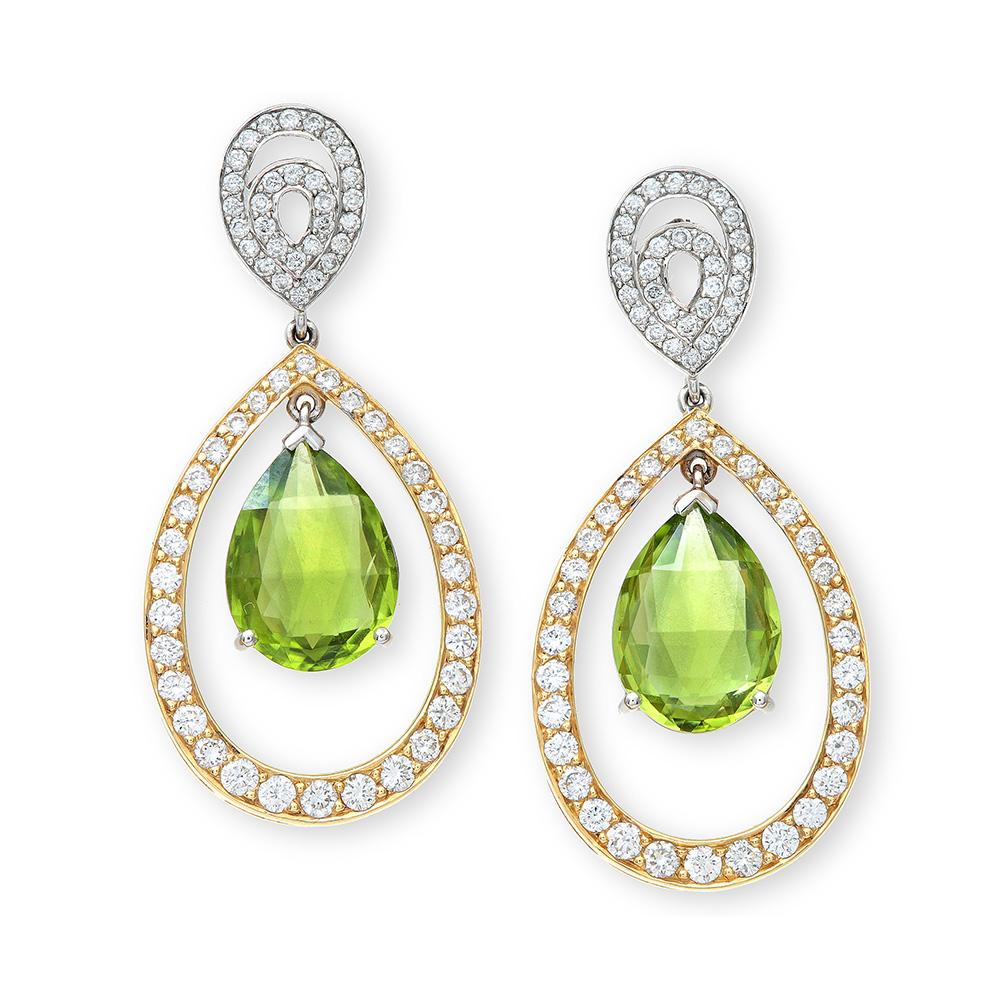 Lottie Lauder Green Set Earrings