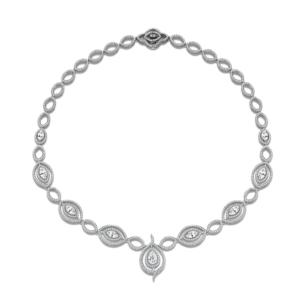 Lottie Lauder Diamond Necklace
