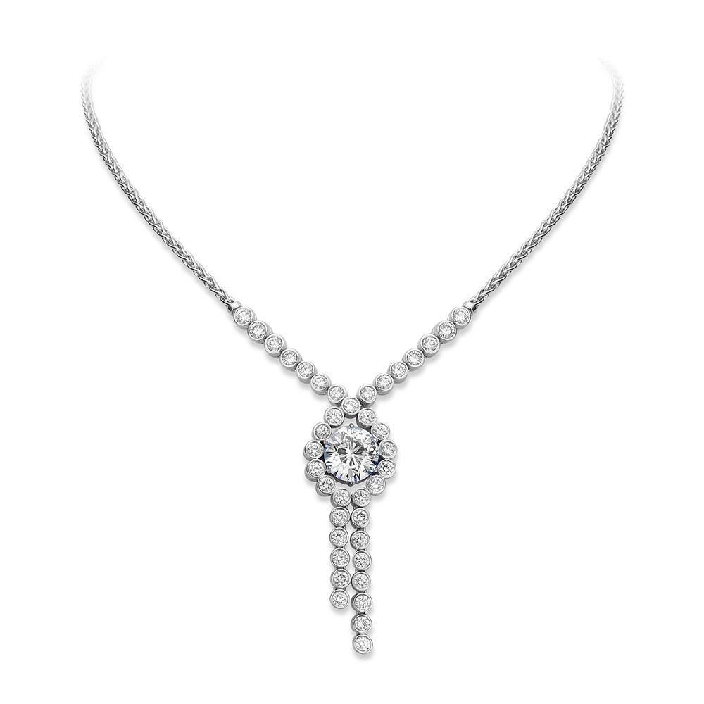 Lottie Lauder Large Diamond Necklace